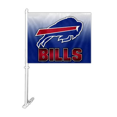 NFL Officially licensed products Buffalo Bills Car Flag Show your team spirit proudly with this NFL car flag. Each 11-inch x