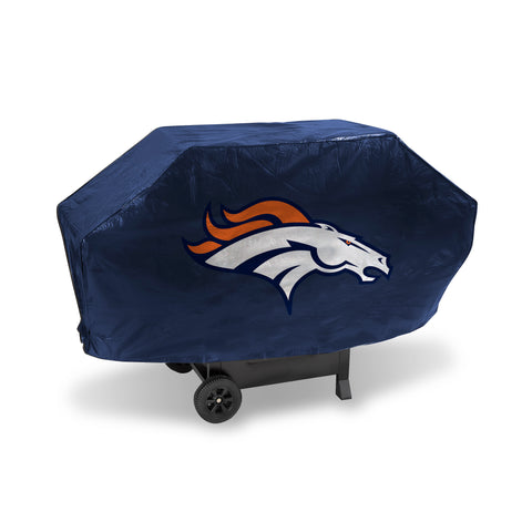 BRONCOS DELUXE GRILL COVER (Navy)