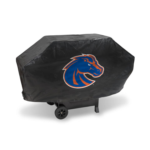 BOISE STATE DELUXE GRILL COVER (Black)