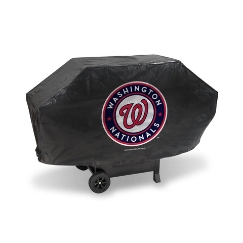 NATIONALS DELUXE GRILL COVER (Black)