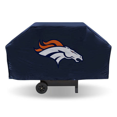 BRONCOS ECONOMY GRILL COVER (Navy)