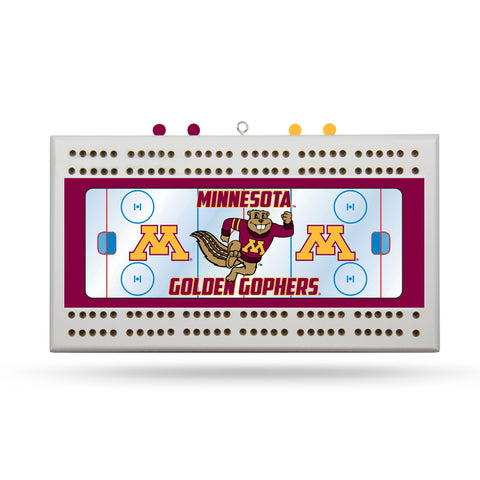MINNESOTA GOPHERS FIELD CRIBBAGE BOARD
