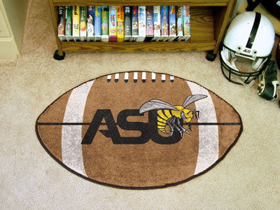 "NCAA Officially licensed Alabama State University Football Mat 20.5""x32.5"" Protect your floor in style and show off your fan"