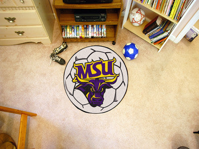 "NCAA Officially licensed Minnesota State University - Mankato Soccer Ball 27"" diameter Protect your floor in style and show"