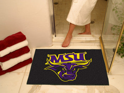 "NCAA Officially licensed Minnesota State University - Mankato All Star Mat 33.75""x42.5"" Join the All-Star team and decorate"