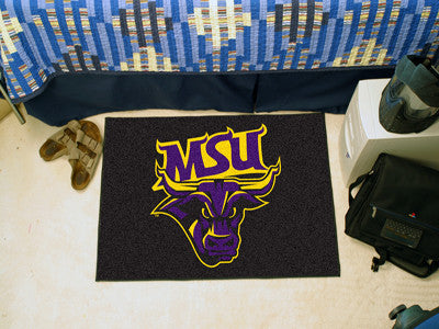 "NCAA Officially licensed Minnesota State University - Mankato Starter Mat 19""x30"" Start showing off your team pride at home"