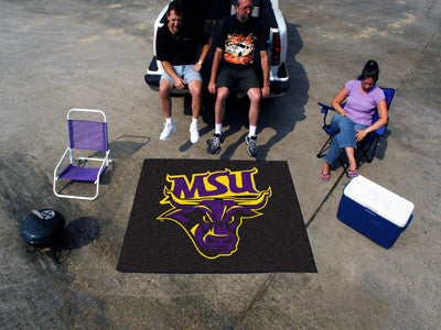 "NCAA Officially licensed Minnesota State University - Mankato Tailgater Mat 59.5""x71"" Start showing off your team pride with"