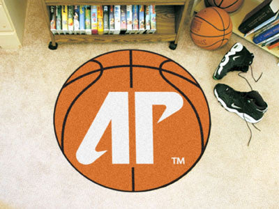 "NCAA Officially licensed Austin Peay State University Basketball Mat 27"" diameter Protect your floor in style and show off y"