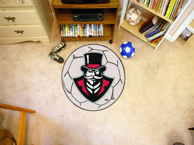 "NCAA Officially licensed Austin Peay State University Soccer Ball 27"" diameter Protect your floor in style and show off your"