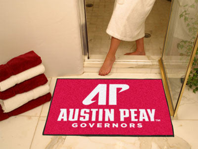 "NCAA Officially licensed Austin Peay State University All Star Mat 33.75""x42.5"" Join the All-Star team and decorate your hom"