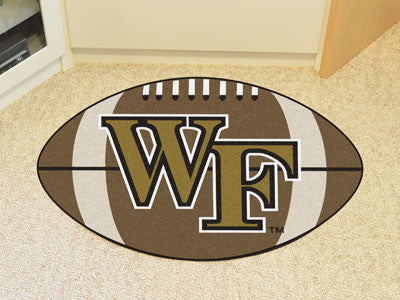 "NCAA Officially licensed Wake Forest University Football Mat 20.5""x32.5"" Protect your floor in style and show off your fando"