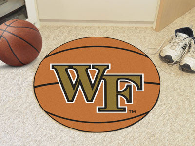 "NCAA Officially licensed Wake Forest University Basketball Mat 27"" diameter Protect your floor in style and show off your fa"