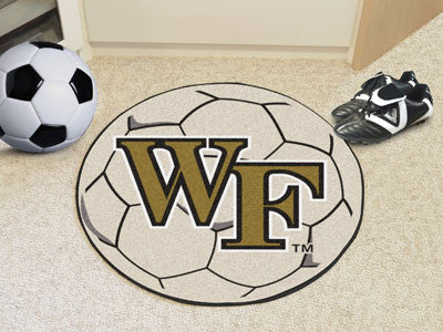 "NCAA Officially licensed Wake Forest University Soccer Ball 27"" diameter Protect your floor in style and show off your fando"