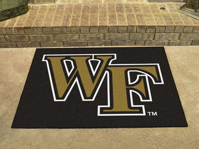 "NCAA Officially licensed Wake Forest University All Star Mat 33.75""x42.5"" Join the All-Star team and decorate your home or o"