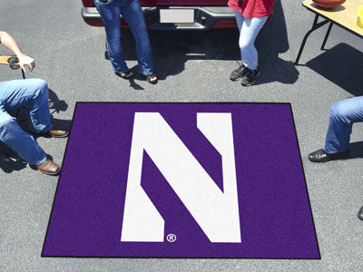 "NCAA Officially licensed Northwestern University Tailgater Mat 59.5""x71"" Start showing off your team pride with a Tailgater"