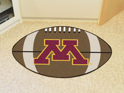 "NCAA Officially licensed University of Minnesota Football Mat 20.5""x32.5"" Protect your floor in style and show off your fand"