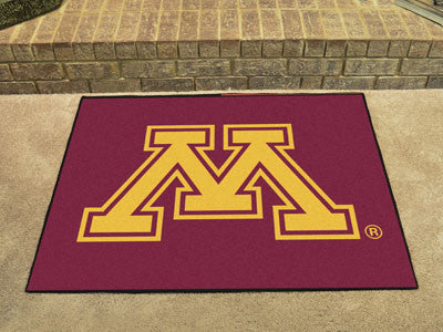 "NCAA Officially licensed University of Minnesota All Star Mat 33.75""x42.5"" Join the All-Star team and decorate your home or"