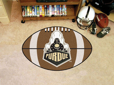 "NCAA Officially licensed Purdue University Football Mat 20.5""x32.5"" Protect your floor in style and show off your fandom wit"