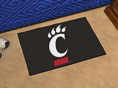 "NCAA Officially licensed University of Cincinnati Starter Mat 19""x30"" Start showing off your team pride at home and the offi"
