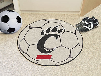 "NCAA Officially licensed University of Cincinnati Soccer Ball 27"" diameter Protect your floor in style and show off your fan"