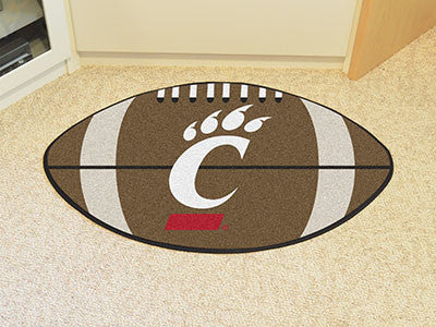 "NCAA Officially licensed University of Cincinnati Football Mat 20.5""x32.5"" Protect your floor in style and show off your fan"