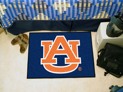 "NCAA Officially licensed Auburn University Starter Mat 19""x30"" Start showing off your team pride at home and the office with"