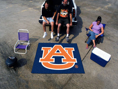 "NCAA Officially licensed Auburn University Tailgater Mat 59.5""x71"" Start showing off your team pride with a Tailgater Mat fr"
