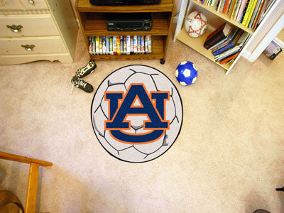 "NCAA Officially licensed Auburn University Soccer Ball 27"" diameter Protect your floor in style and show off your fandom wit"