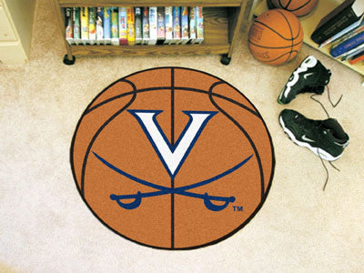 "NCAA Officially licensed University of Virginia Basketball Mat 27"" diameter Protect your floor in style and show off your fa"