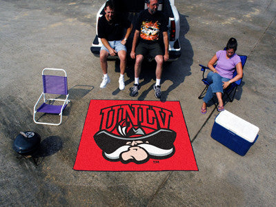 "NCAA Officially licensed University of Nevada, Las Vegas (UNLV) Tailgater Mat 59.5""x71"" Start showing off your team pride wi"