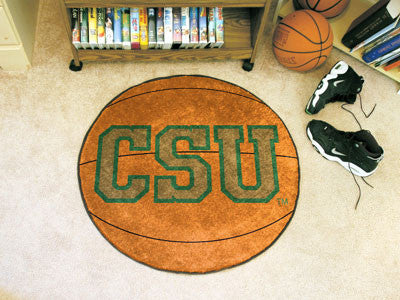 "NCAA Officially licensed Colorado State University Basketball Mat 27"" diameter Protect your floor in style and show off your"