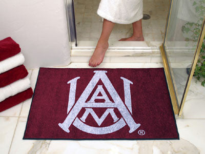 "NCAA Officially licensed Alabama A&M University All Star Mat 33.75""x42.5"" Join the All-Star team and decorate your home or o"