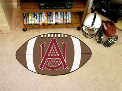 "NCAA Officially licensed Alabama A&M University Football Mat 20.5""x32.5"" Protect your floor in style and show off your fando"