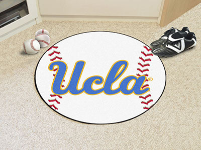 "NCAA Officially licensed University of California - Los Angeles (UCLA) Baseball Mat 27"" diameter Protect your floor in style"