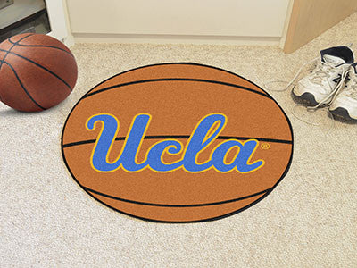 "NCAA Officially licensed University of California - Los Angeles (UCLA) Basketball Mat 27"" diameter Protect your floor in sty"