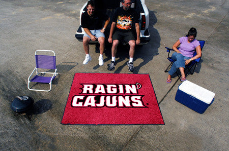 "NCAA Officially licensed University of Louisiana-Lafayette Tailgater Mat 59.5""x71"" Start showing off your team pride with a"