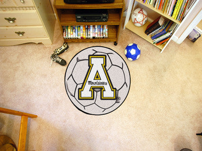 "NCAA Officially licensed Appalachian State Soccer Ball 27"" diameter Protect your floor in style and show off your fandom wit"