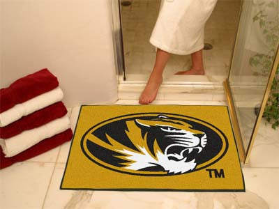 "NCAA Officially licensed University of Missouri All Star Mat 33.75""x42.5"" Join the All-Star team and decorate your home or o"