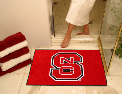 "NCAA Officially licensed North Carolina State University All Star Mat 33.75""x42.5"" Join the All-Star team and decorate your"