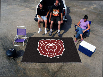 "NCAA Officially licensed Missouri State Ulti-Mat 59.5""x94.5"" Start showing off your team pride with an Ulti-Mat from Sports"
