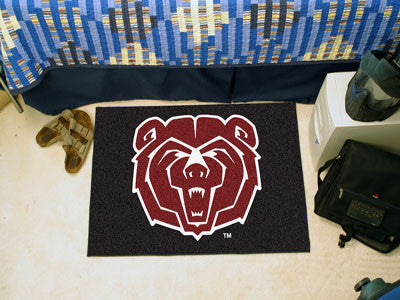 "NCAA Officially licensed Missouri State Starter Mat 19""x30"" Start showing off your team pride at home and the office with a"