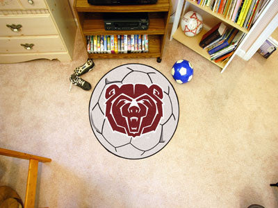 "NCAA Officially licensed Missouri State Soccer Ball 27"" diameter Protect your floor in style and show off your fandom with S"