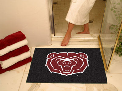 "NCAA Officially licensed Missouri State All Star Mat 33.75""x42.5"" Join the All-Star team and decorate your home or office wi"