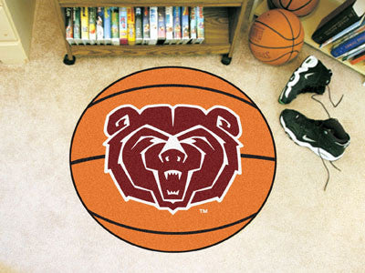 "NCAA Officially licensed Missouri State Basketball Mat 27"" diameter Protect your floor in style and show off your fandom wit"