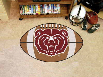 "NCAA Officially licensed Missouri State Football Mat 20.5""x32.5"" Protect your floor in style and show off your fandom with F"