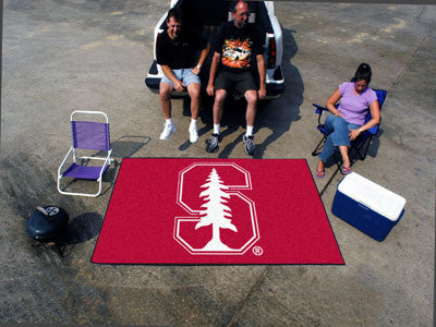 "NCAA Officially licensed Stanford University Ulti-Mat 59.5""x94.5"" Start showing off your team pride with an Ulti-Mat from Sp"