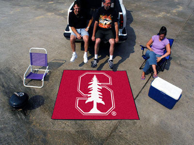 "NCAA Officially licensed Stanford University Tailgater Mat 59.5""x71"" Start showing off your team pride with a Tailgater Mat"