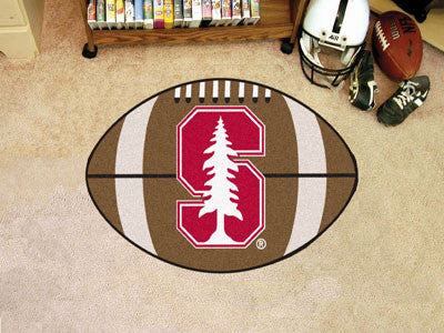 "NCAA Officially licensed Stanford University Football Mat 20.5""x32.5"" Protect your floor in style and show off your fandom w"