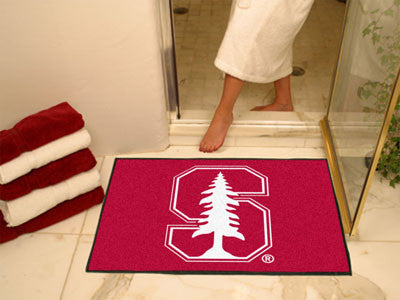 "NCAA Officially licensed Stanford University All Star Mat 33.75""x42.5"" Join the All-Star team and decorate your home or offi"