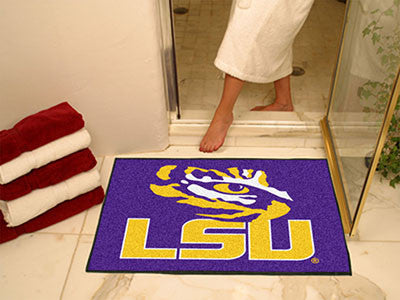 "NCAA Officially licensed Louisiana State University All Star Mat 33.75""x42.5"" Join the All-Star team and decorate your home"